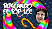 El top 10 de los gusanos! | Slither.io