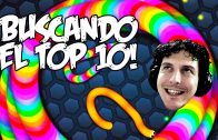 El top 10 de los gusanos! | Slither.io